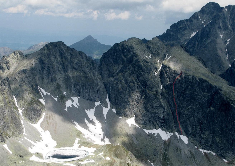 Horolezectvo - Vysoké Tatry  JZ pilierom na Javorový štít ... 8949dc1385c