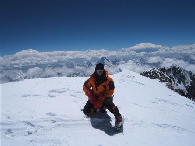 vrchol K2